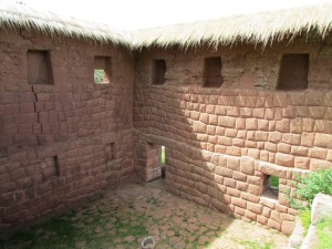 2 – Story Incan stone building
