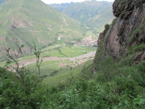 Looking at Lamay in the Sacred Valley